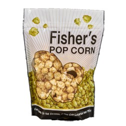 6 oz bag Fisher's pop corn